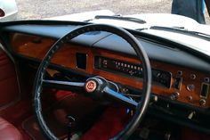 Wolseley 1300 interior Car Upholstery, Dashboards, Great Britain, Classic Cars, Interior Design, Design Cars, Vehicles, Job Offer, Beautiful Things