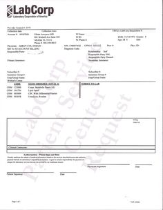 Laboratory Requisition Form  Med Lab    Med Lab And