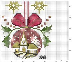 Brilliant Cross Stitch Embroidery Tips Ideas. Mesmerizing Cross Stitch Embroidery Tips Ideas. Xmas Cross Stitch, Cross Stitch Christmas Ornaments, Cross Stitch Cards, Christmas Embroidery, Cross Stitch Flowers, Christmas Knitting, Christmas Cross, Cross Stitching, Cross Stitch Embroidery