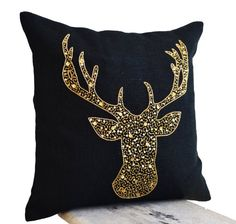 Deer Pillow Cover - Animal Pillows with Stag Embroidered ... https://www.amazon.co.uk/dp/B00EZTARNC/ref=cm_sw_r_pi_dp_3AOxxbMS930S0