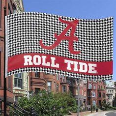 #UltimateTailgate #Fanatics Alabama Crimson Tide 3' x 5' Houndstooth Flag