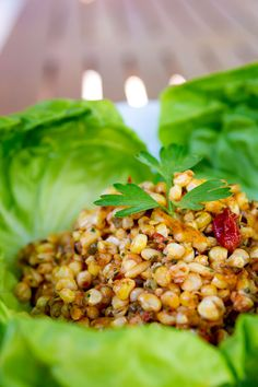 I want a bowl of this #salad (grilled corn & tomato)