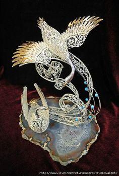 Russian Filigree-the Art of the Millennium Filigree Jewelry, Lace Jewelry, Victorian Jewelry, Silver Filigree, Jewelery, Braided Rag Rugs, Wilton, Jute Crafts, Plastic Bottle Crafts