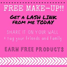 #FREE #MAKEUP! Does it get better??? Visit me to start your #lash #link!