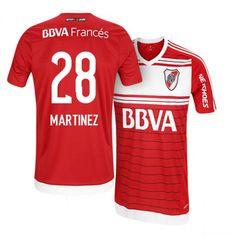 river plate away 16 17 quarta red soccer jersey Argentina League 144435f23b8
