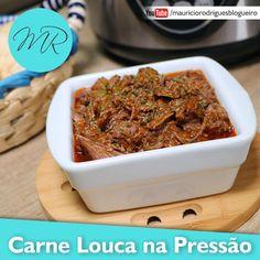 VÍDEO - Carne Louca na Pressão / Carne Desfiada de Festa / Carne Maluca | Receitas na Pressão