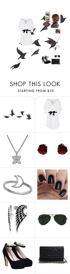 """Metallic chic"" by kassidee-ks ❤ liked on Polyvore featuring Jayson Home, Johanna Ortiz, Louis Vuitton, Annoushka, Midsummer Star, Bling Jewelry, Ray-Ban and Lime Crime"