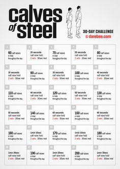Calves of Steel Challenge