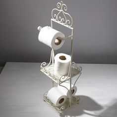 Shabby Chic Toilet Roll Paper Holder Stand French Vintage Standing Storage for sale Shabby Chic Toilet, Room Accessories Diy, Cheap Baths, Room Accessories, Modern Chic, Modern Room, French Vintage, Shabby Chic Bathroom, Bathroom