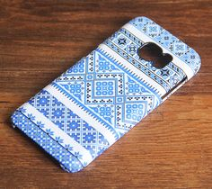 Blue Native Ethnic Aztec Tribal Samsung Galaxy S6 Case for Galaxy S7/S6/S5/Note 5