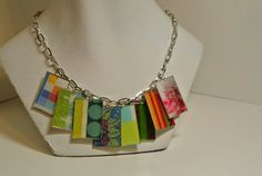 Colorful Statement Necklace by sarahracha on Etsy, $40.00