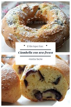 Limoncello, Mediterranean Recipes, Raisin, Doughnut, Italian Recipes, Good Food, Dolce, Desserts, Food Ideas