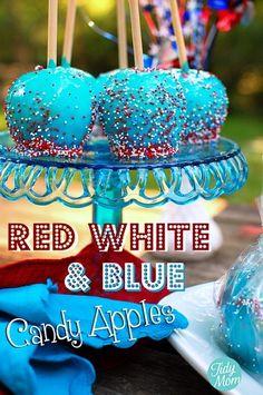 patriotic apples!!!