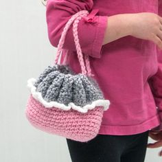 Crochet Cradle Purse Pattern | Cradle Purse Doll Kit