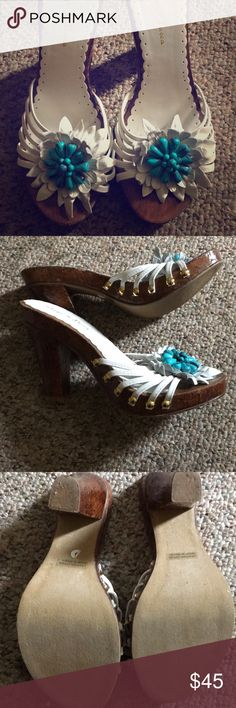 Summer heels Super sweet and actually pretty easy to walk in diego di lucca Shoes Heels