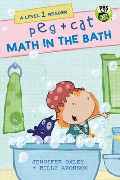 Buy Peg + Cat: Math in the Bath: A Level 1 Reader by Jennifer Oxley at Mighty Ape NZ. Bath time turns into math time for Peg and Cat in this tale for early readers. Peg and Cat are in the bath. One, two friends in the bath. Pbs Kids, Kids Z, Peg Plus Cat, Steam Learning, Cat Bath, Cat Activity, Teacher Librarian, Early Readers, Parents As Teachers