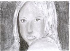 zelfportret potlood