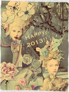 Artes da Cris: Feliz 2013 !!! Paz e amor, saúde e sorte.