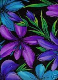 blue purple Blue and Purple flowers