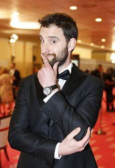Dani Rovira. Best New Actor at the Goya Awards 2015.