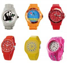 Featuring a trendy plastic dial and eye-catching plastic strap, this watch will be a fashionable touch to your look. It is also available in Different colors & designs.