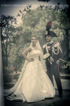 Retrò... vintage sicilian wedding  Wedding portrait by Ettore Colletto fotografo per matrimoni
