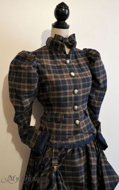 Site officiel My Oppa Tartan, Steampunk, Fashion Outfits, Outfit, Stewart Tartan, Fashion Sets, Steam Punk, Trendy Outfits