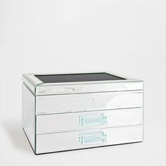 Caixa Espelho Gavetas - Caixas - Decoração | Zara Home Portugal