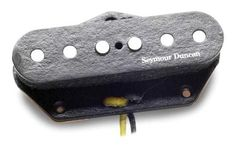 """Seymour Duncan APTL-3JD Jerry Donahue Model Tele Bridge Pickup by Seymour Duncan. $71.95. The Seymour Duncan APTL-3JD is a well-balanced true single-coil Telecaster pickup with boosted output. Recommended for traditional country, country pop, blues, and classic rock.  When Jerry Donahue, the """"Bendmaster of the Telecaster"""" needed a touring guitar with the exact same sound as his prized '52, he turned to Seymour who accurately duplicated the warm, punchy tone of its lead pic..."""