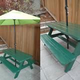 Love this picnic table for the kids