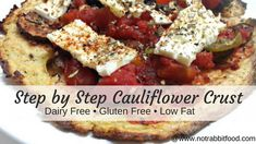 Cauliflower crust for pizza, soft tortilla or sandwich wrap - low in calories and tastes great! The perfect base for all of your fave toppings!