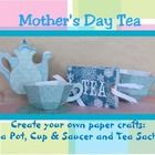 This is a really great Mothers Day craft! Includes step-by-step instructions and templates to create three unique Mothers Day Crafts - Tea Pot, T...