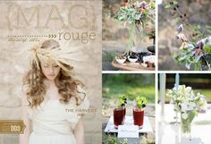 Mag Rouge; Event Planning and Styling by Fete Studio; Photography by Marta Locklear Photography
