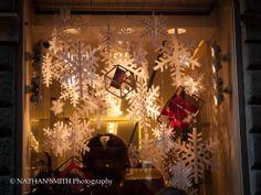 A Christmas shop window.