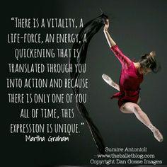 unique! #quote #dance #motivation  www.theballetblog.com