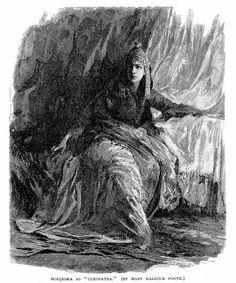 Victorian actress Helena Modjeska (1840-1909) being Cleopatra in Shakespeare's Antony and Cleopatra, 1879 BeingCleopatra.blogspot.com