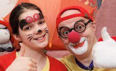 Клоун Дима NEW Аквагрим для детей Смешное видео для детей Герои мультсер...