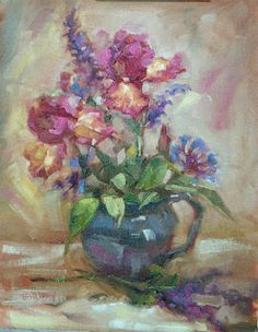 Barbara Schilling: More Irises....these are a lovely, old fashioned c...
