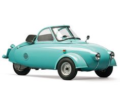 1957 Microcar Jurisch Motoplan Prototype (one of three built).