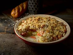 This potato, parsnip and carrot bake recipe from Warburtons Gluten Free uses our gluten-free white baguette to create a delicious cheesy breadcrumb topping. Vegetable Bake, Carrot Vegetable, Baked Vegetables, Valentines Day Food, Tasty, Yummy Food, Baking Recipes, Potato, Gluten Free