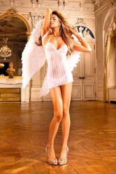 White Lace Halter Dress Babydolls