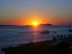 Sunset at Cafe Mambo, Ibiza.