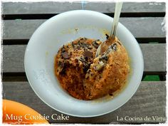 La cocina de Virtu: Mug Cookie Cake : bizcocho de galletas a la taza
