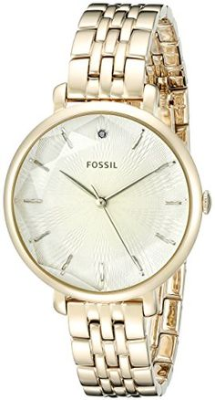 bc6c5f9c6e7 Fossil Womens ES3859 Incandesa ThreeHand Stainless Steel Watch GoldTone      You can find out