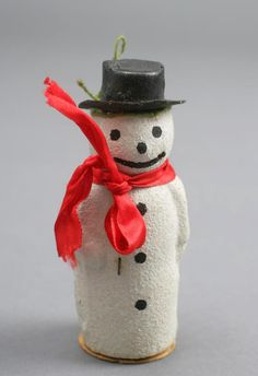 Truman's Snowman      Truman's Snowman  Christmas ornament that hung on Margaret Truman's first Christmas tree in 1924. According to Margaret, this ornament was used year after year – along the way, this snowman lost his pipe.