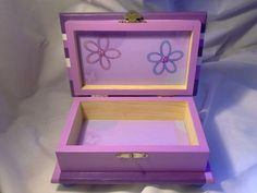 Beautiful baby girl handcrafted box.  $27.00 http:www.etsy.com/Enchantedgiftss? ref=si_shop