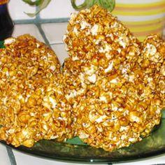Grandpa's Popcorn Balls -this will be our go-to popcorn ball recipe!