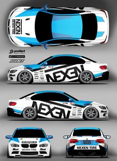 Bold yet simple design. Ae86, Sport Cars, Race Cars, Car Wrap Design, Cleaning Leather Car Seats, Design Autos, Rc Cars For Sale, Vehicle Signage, Car Paint Jobs