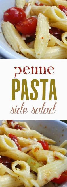 A Fine Feed: Penne Pasta Side Salad