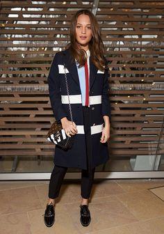 A queridinha da Louis Vuitton e vencedora do Oscar de Melhor Atriz Coadjuvante, Alicia Vikander